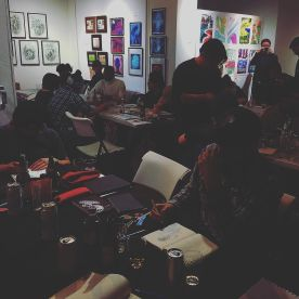 Drink & Draw and Sketch Gallery in SoMa San Francisco